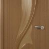 дверь Лилия орех художественное стекло