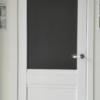 дверь рим белая с капителью Альберо