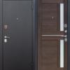 дверь входная нью-йорк царга 75 мм каштан мускат