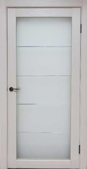 дверь Легро с молдингом дуб молочный