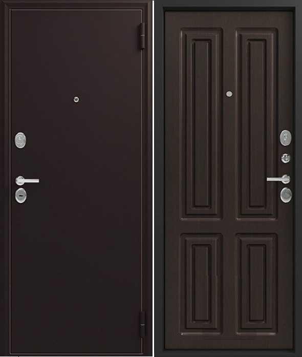 дверь Люкс 6 венге черный шелк